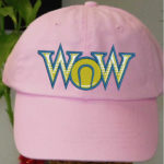 WOW pink hat