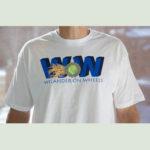 wow shirt white